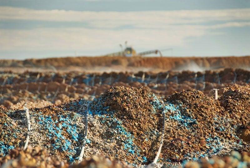 heap leach mining equipment southwest irrigation